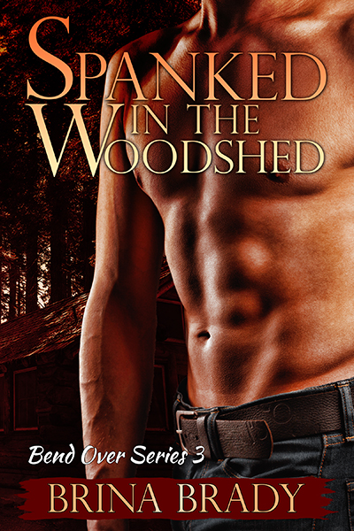 Spanked in the Woodshed E-Book Cover